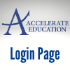 Accelerate Education Login Page