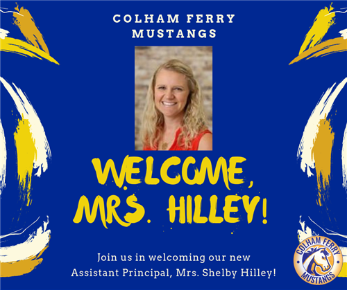 Welcome, Mrs. Hilley!