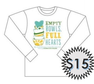 Order Your Empty Bowls T-Shirt!