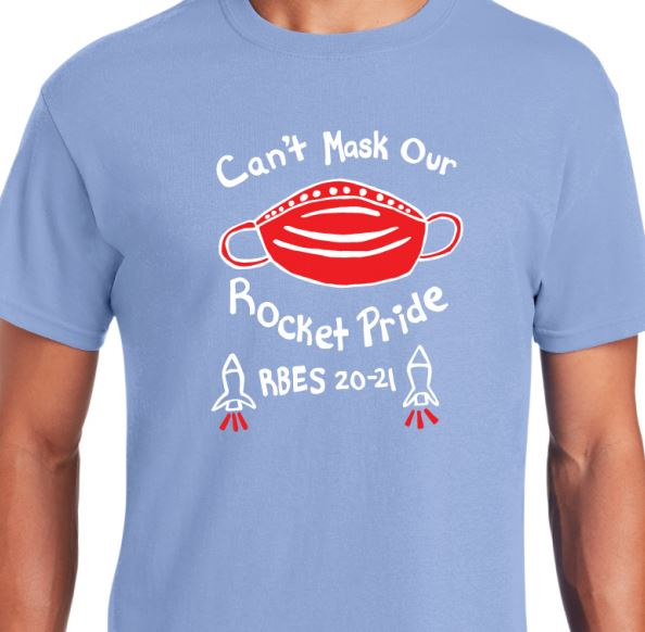 Can't Mask Our Rocket Pride - 2020 T-shirt Sales!