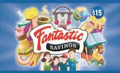 Fantastic Savings Coupon Books on Sale