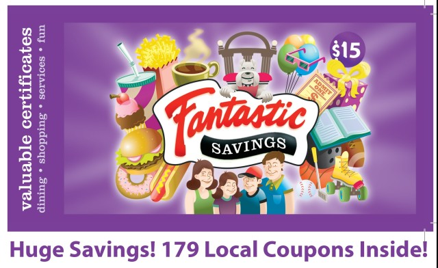 Fantastic Savings Coupon Books
